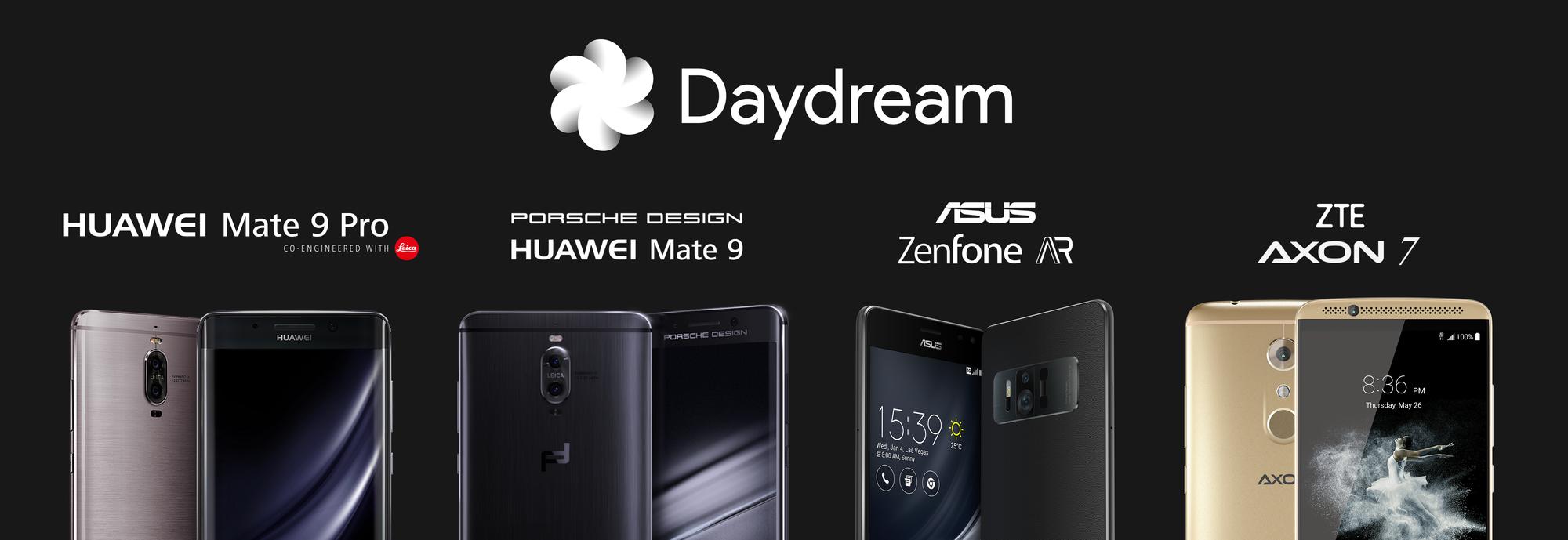 Google Daydream kompatibilis Huawei telefonok