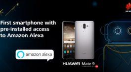 Huawei Mate 9 Amazon Alexa