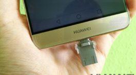 Huawei Mate 9 USB-OTG bemutató