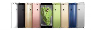 Huawei P10 színek