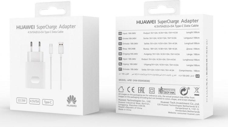 Huawei AP81 SuperCharge töltő