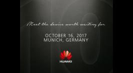 Huawei Mate 10 bemutató október 16-án
