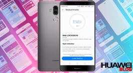 Huawei Mate 9 B190-es frissítés