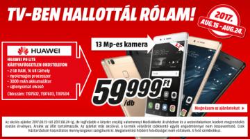 Huawei P9 Lite akció a MediaMarktban