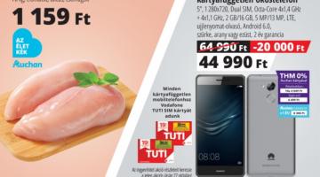 Huawei Nova Smart Auchan akció