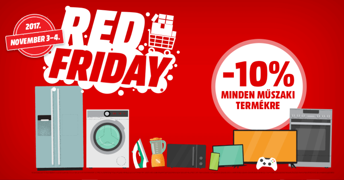 MediaMarkt Red Friday 2017 Huawei és Honor akciók
