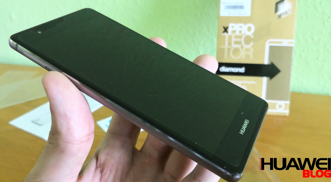 Huawei P9 XPRO Diamond fólia felhelyezés