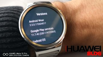 Android Wear 2.5 frissítés a Huawei Watch-ra