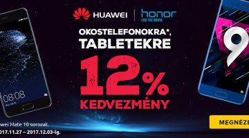 Huawei és Honor akciók a Notebook.hu-nál