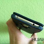 Noreve Huawei Mate 9 kézzel varrott bőr flip tok bemutató