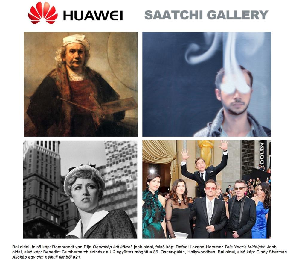 Huawei #SaatchiSelfie