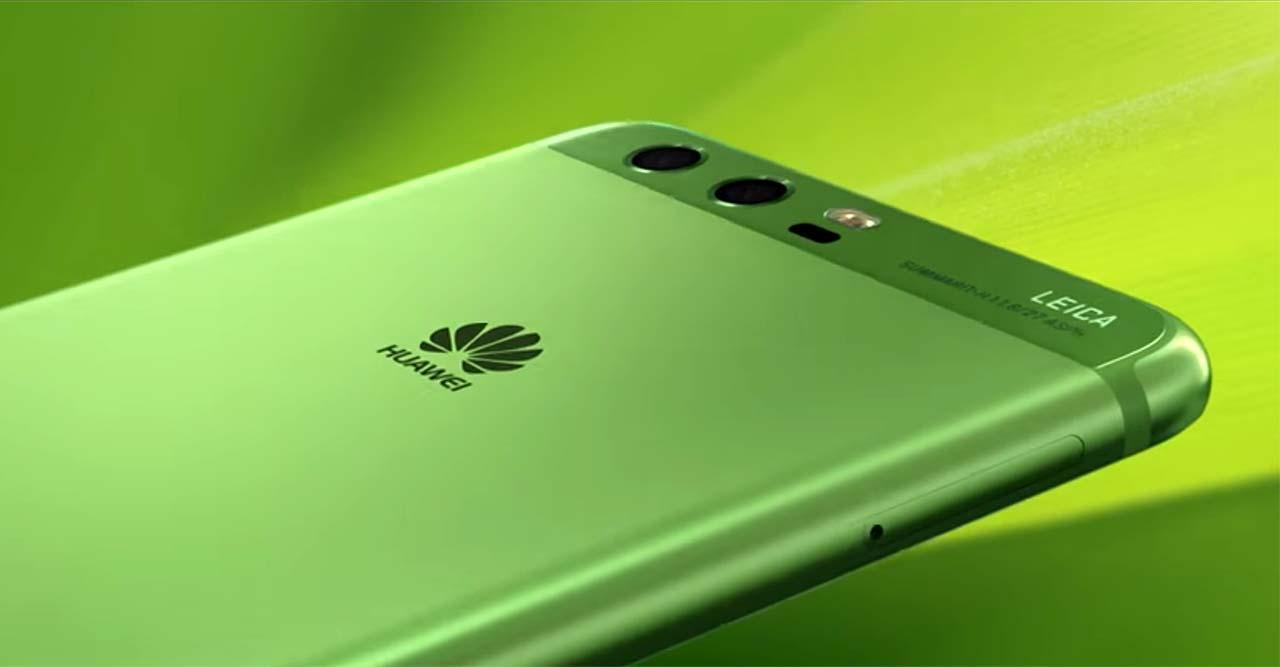Huawei P10 zöld színben Magyarországon