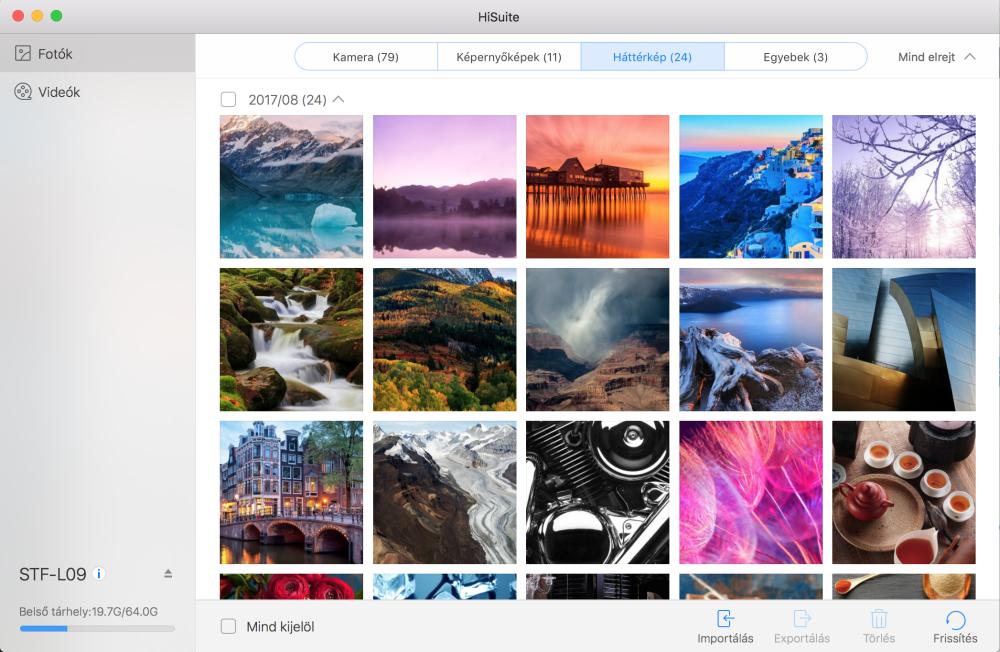 Megjelent a HiSuite az Apple OS X-re