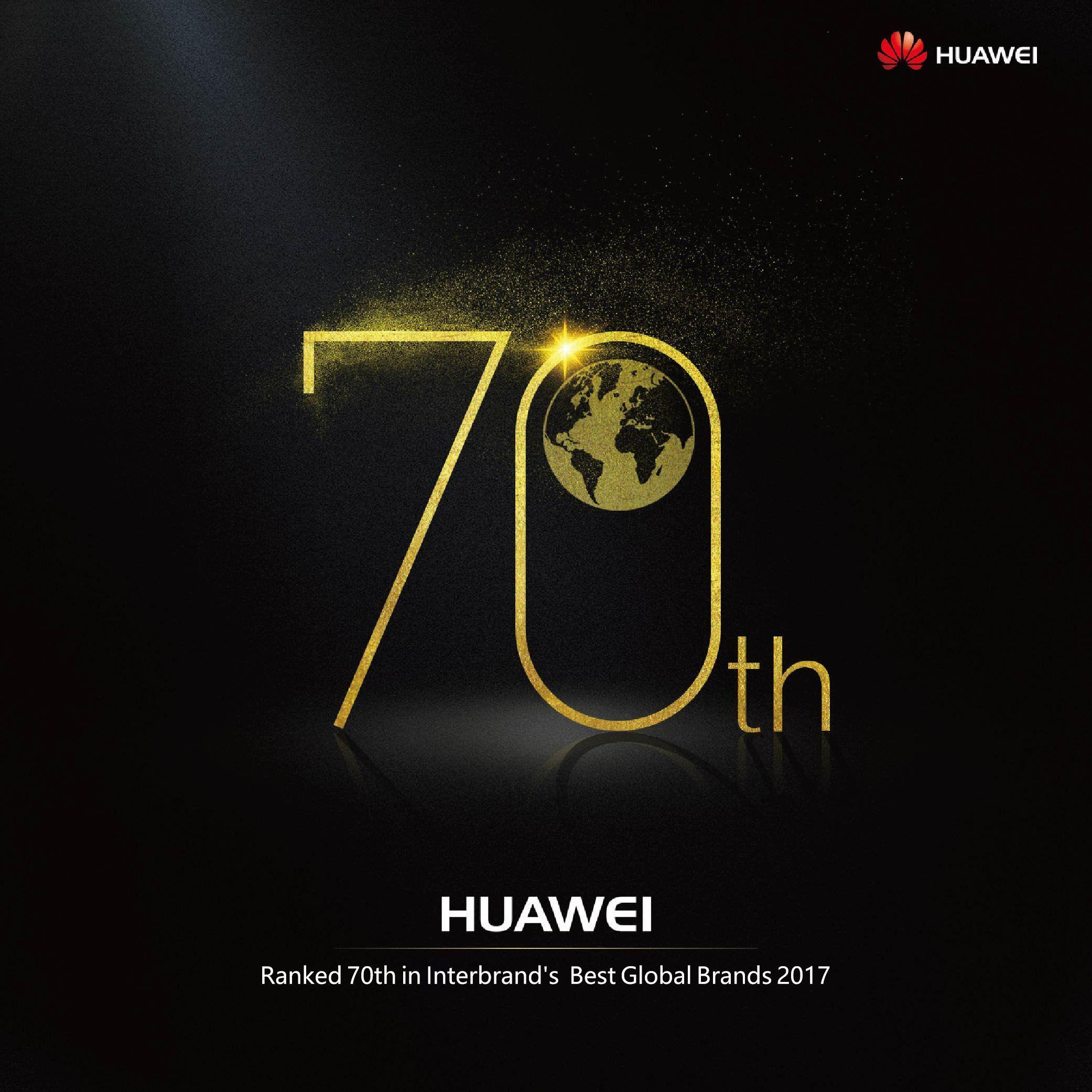 Huawei Best Global Brands 2017
