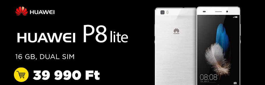 Huawei P8 Lite Speedshop Black friday