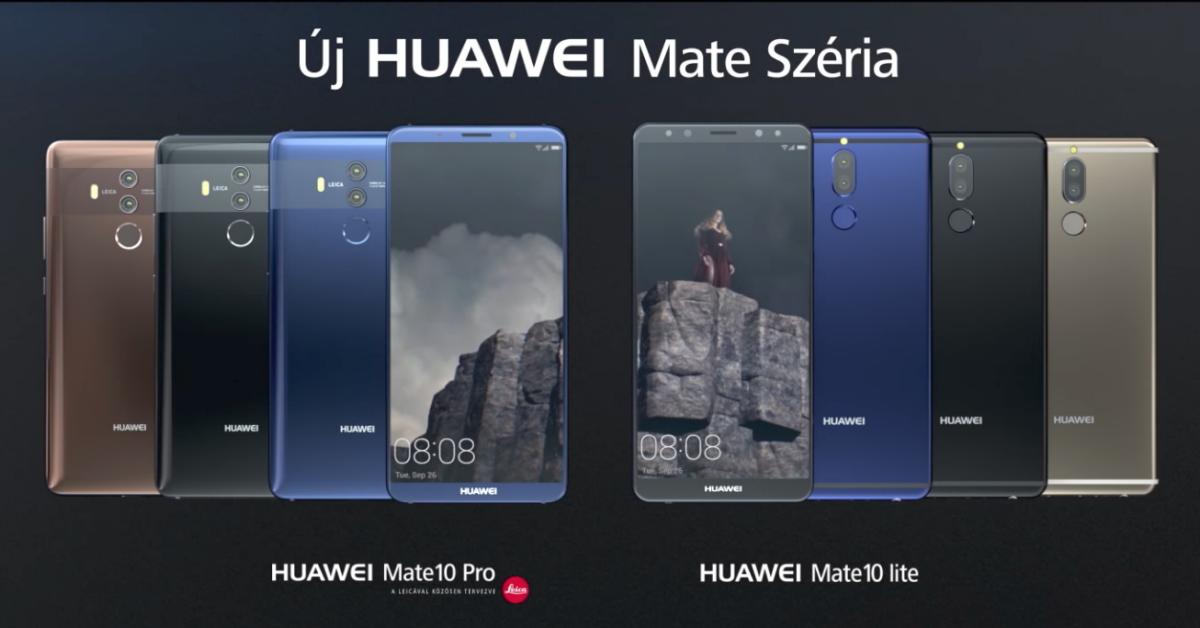 Új Huawei Mate széria