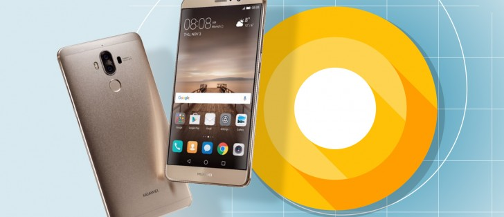 Huawei Mate 9 Android 8.0 frissítés