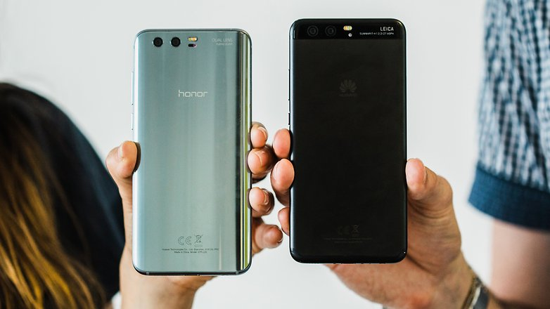 Huawei P10 vs Honor 9