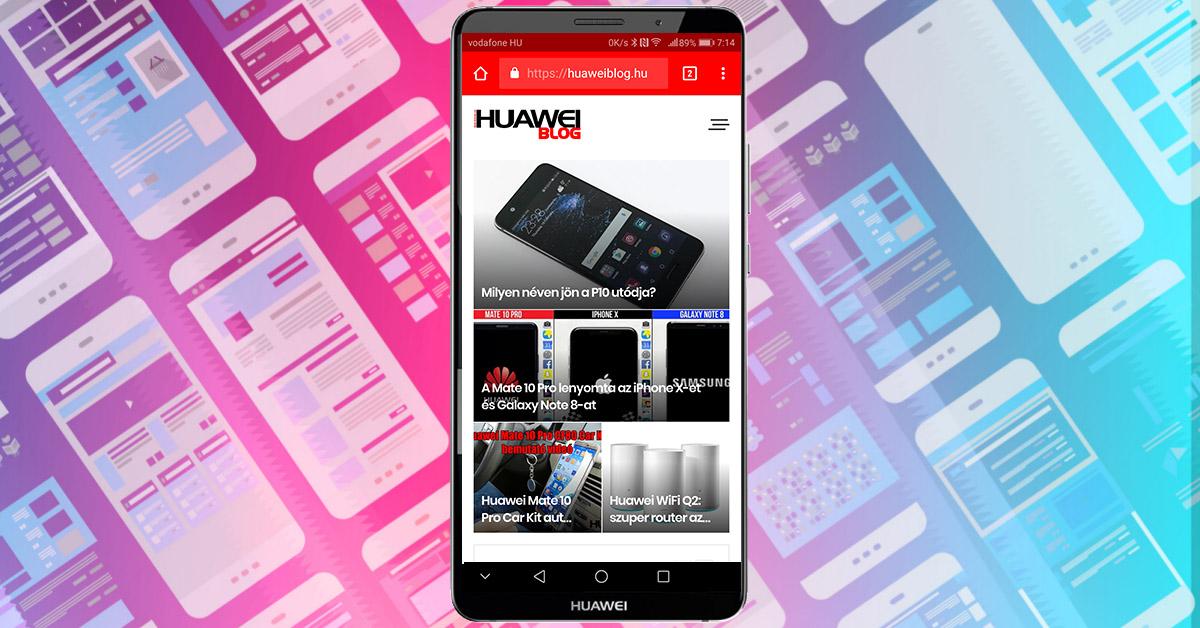 Megújult a HuaweiBlog