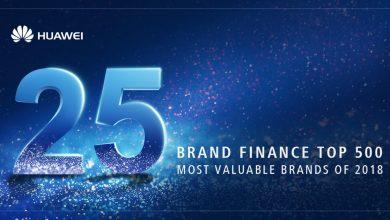 A 25. legértékesebb márka a Huawei