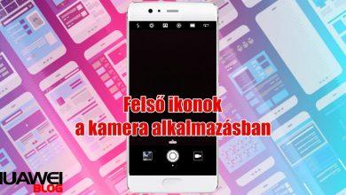 Huawei kamera ikonok jelentései