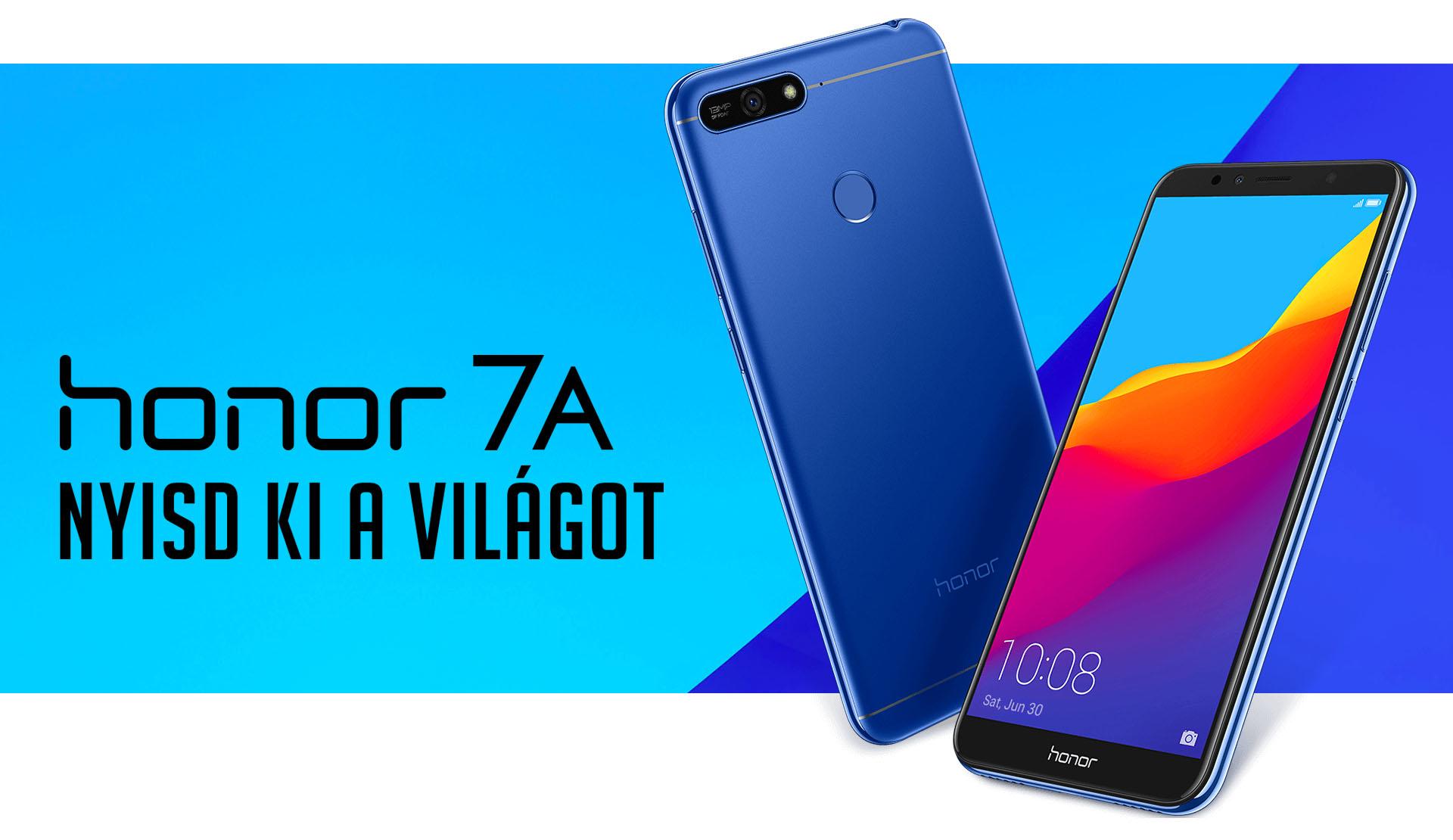 Honor 7A magyarországi ár és vásárlás