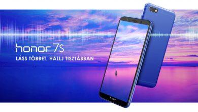 Honor 7S magyarországi ár és vásárlás
