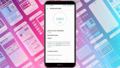 Huawei Y6 2018 132-es frissítés