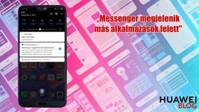 Messenger megjelenik más alkalmazások felett