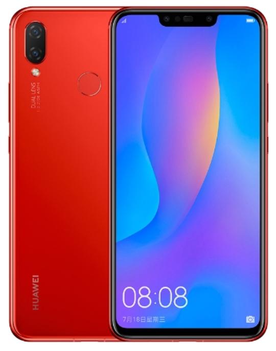 Huawei Nova 3i pirosban