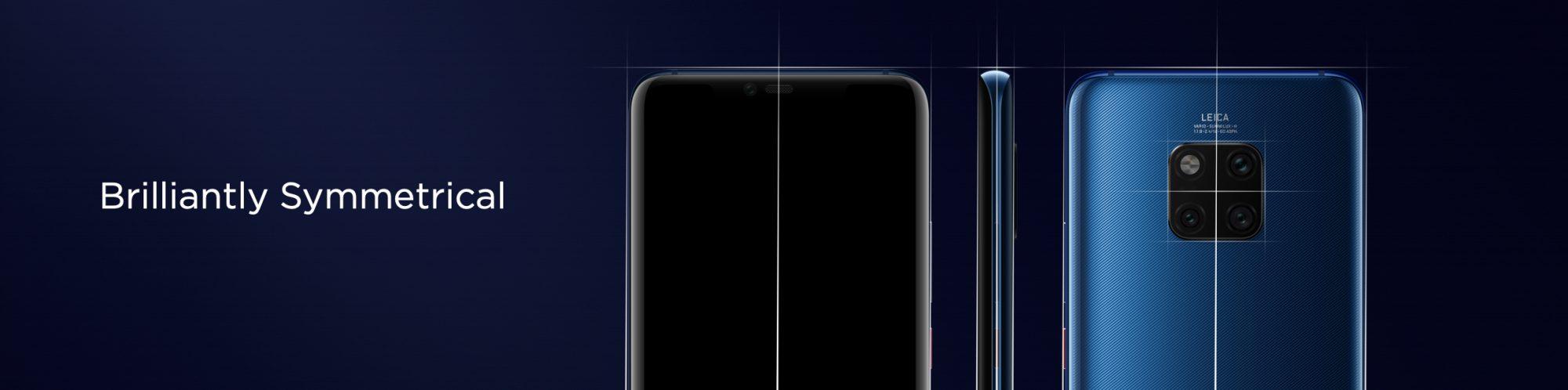 A Huawei Mate20 széria dizájn eredete
