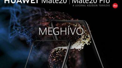 Légy ott a Huawei Mate 20 széria hazai bemutatóján