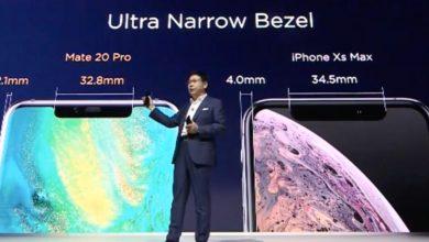 Huawei Mate 20 Pro kijelző arány