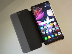 Huawei Mate 20 Lite Flip Cover tok bemutató videó
