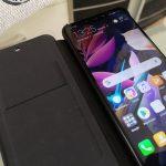 Huawei Mate 20 Lite Flip Cover tok bemutató