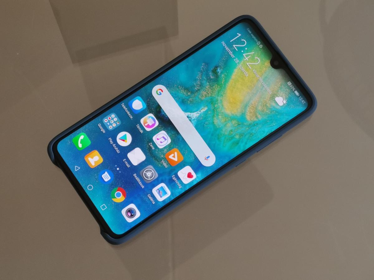 Huawei Mate 20 Silicone Car Case bemutató