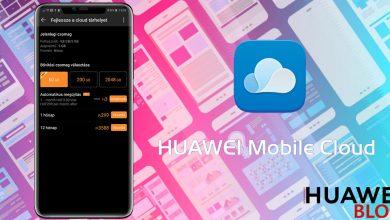 3 forint a Huawei Mobile Cloud 50 GB-os bővítése