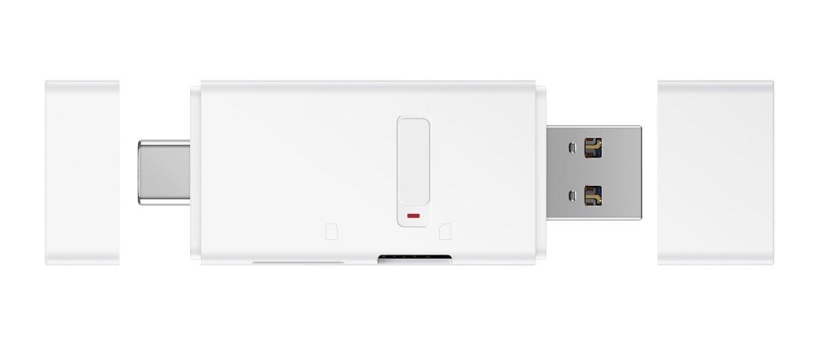 Huawei NM Card Reader: USB-s memóriakártyaolvasó a nanoSD-hez