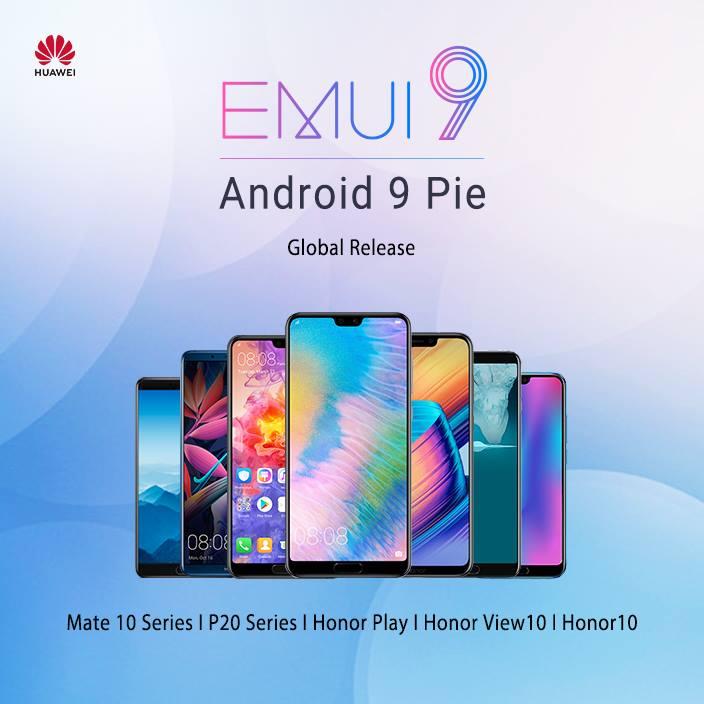 Négy Huawei-re indul az EMUI 9 frissítés hamarosan
