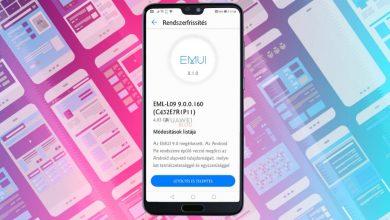 Elindult a Huawei P20 Android 9 Pie és EMUI 9 frissítés
