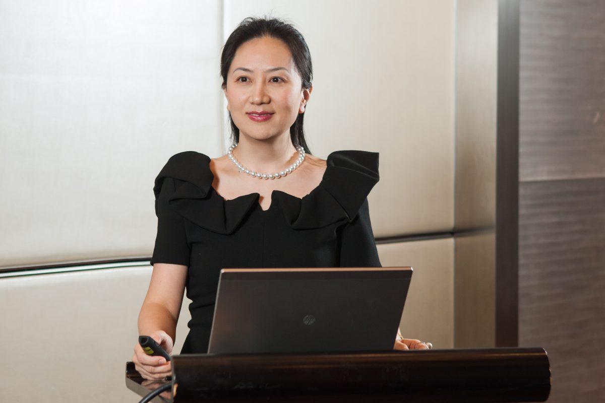 Előzetesben a Huawei pénzügyi vezetője