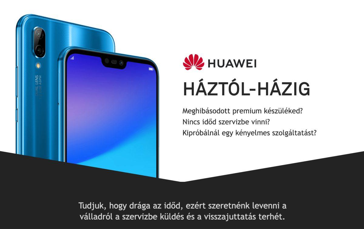 Huawei háztól-házig garanciális szerviz