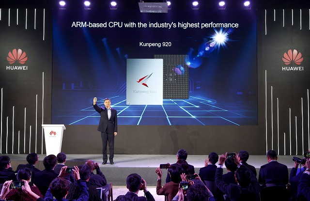 A Huawei bejelentette a 64 magos Kunpeng 920-as CPU-t