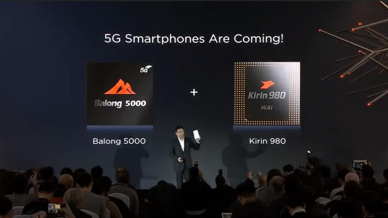 Huawei Balong 5000 + Kirin 980