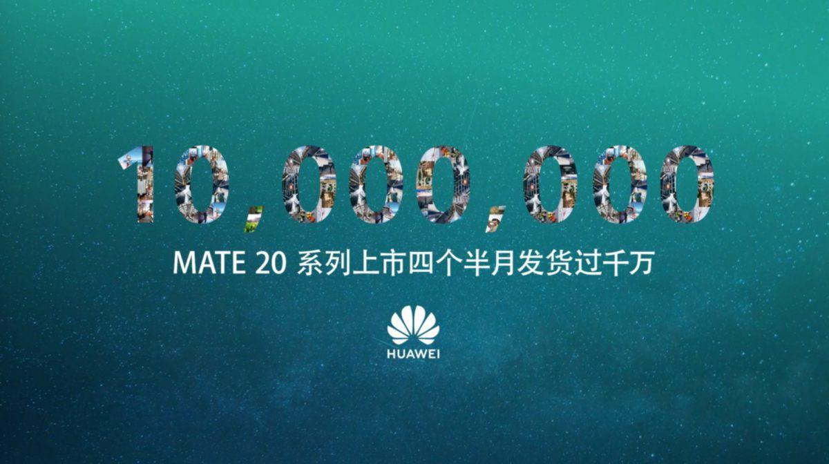 10 millió felett a Huawei Mate 20 sorozat