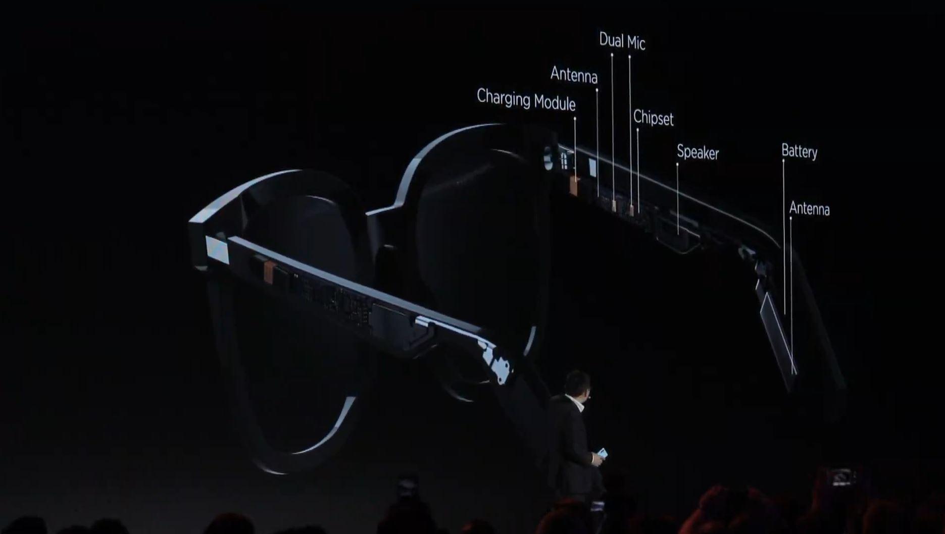Ilyen lett a Huawei okosszemüvege