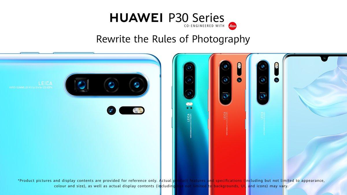 Huawei P30 széria