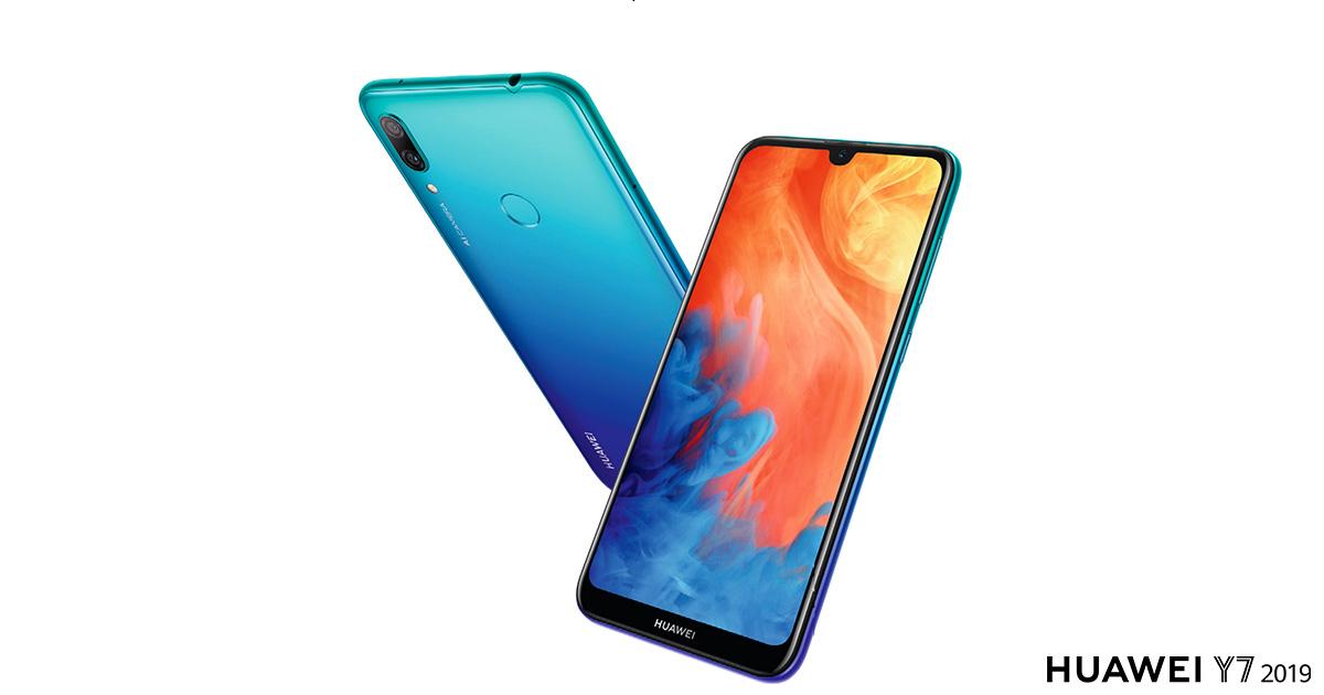 Megjelent a Huawei Y7 2019 Magyarországon