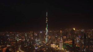 A Huawei P30-tól ragyogott Burj Khalifa