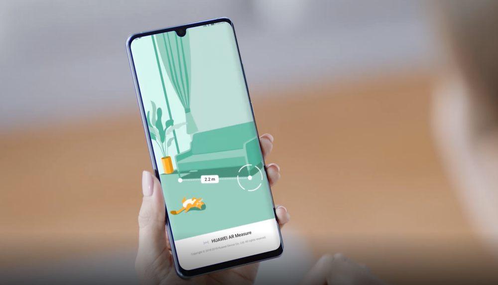 Huawei AR Measurement applikáció